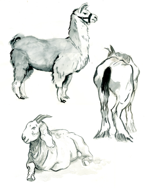 Royal Winter Fair, Ink